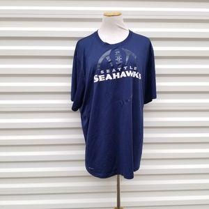 Seattle Seahawks Nike football tee size xxlarge